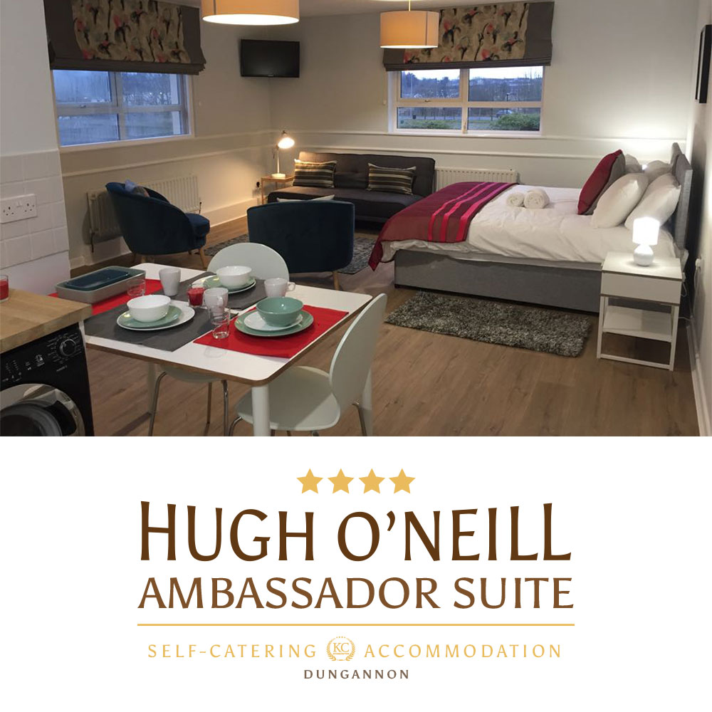 Book the nicest self catering accommodations in Northern Ireland - Hugh O'Neill Ambassador Suite